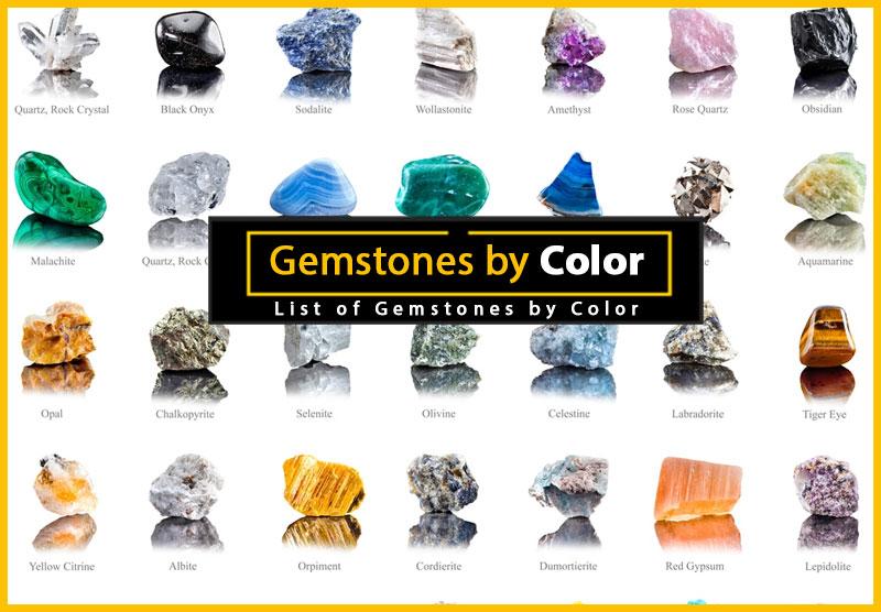 gemstones by color