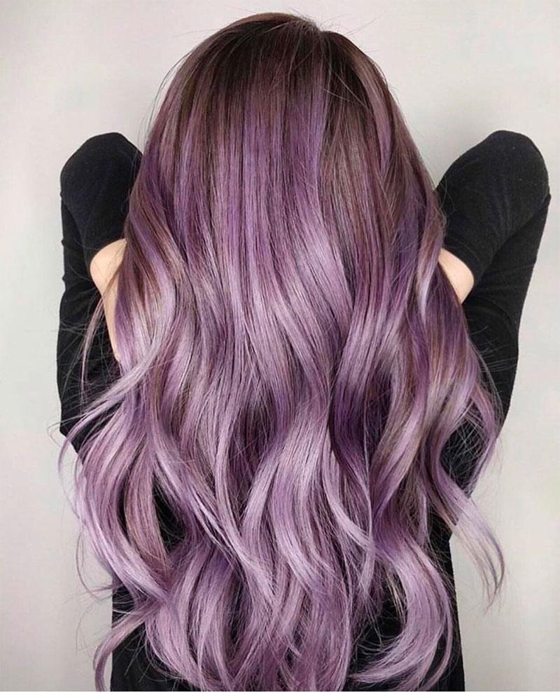 Lavender Hair Color