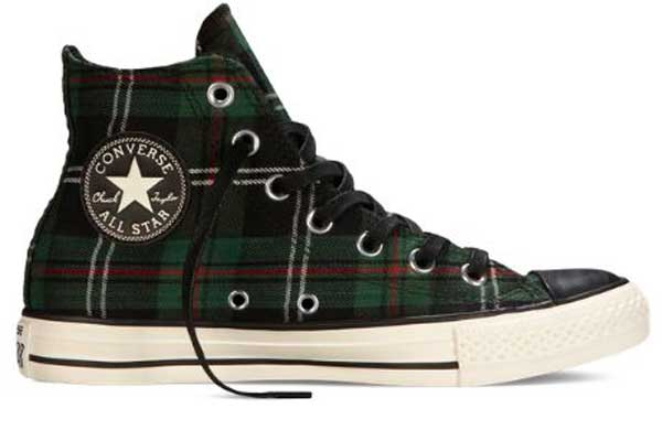 Plaid Chuck Taylors