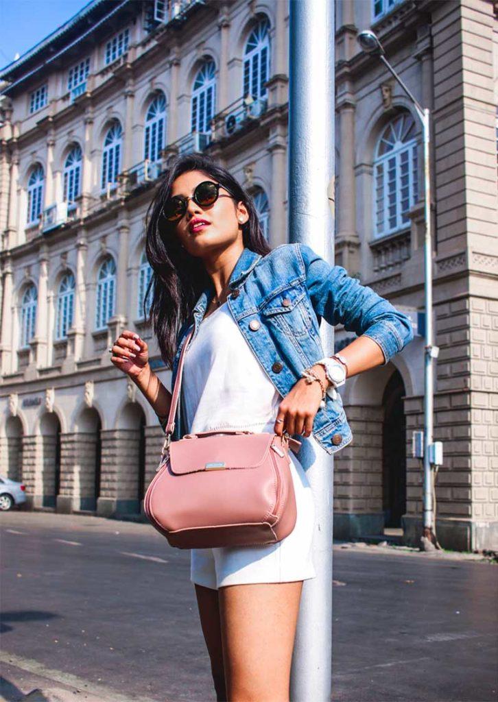 Blush handbags
