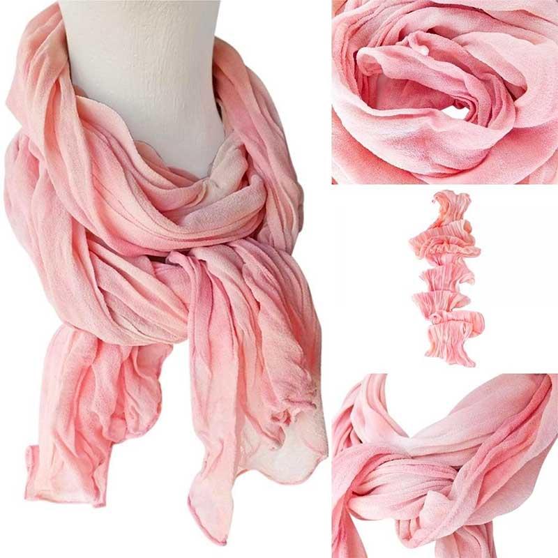 Blush scarves