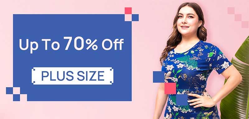 Deals Discounts Plus-Size Apparel