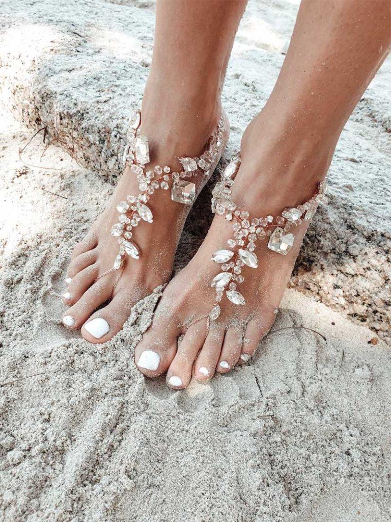Odelia Barefoot Sandals