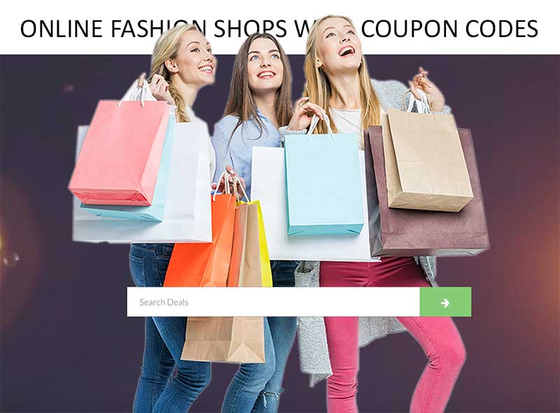 Online Fashion Shops with Coupon Codes