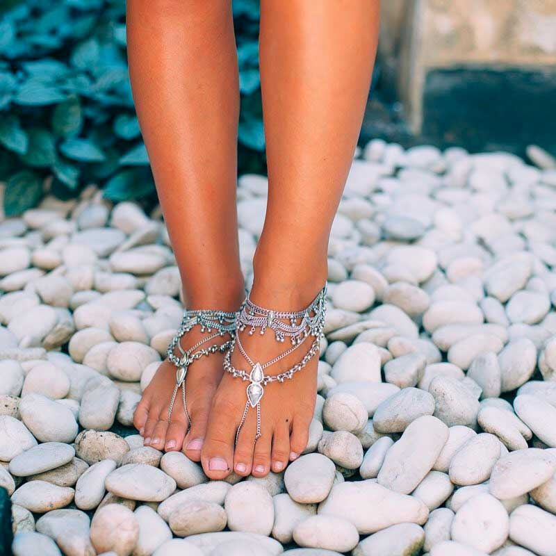 anklets shoes