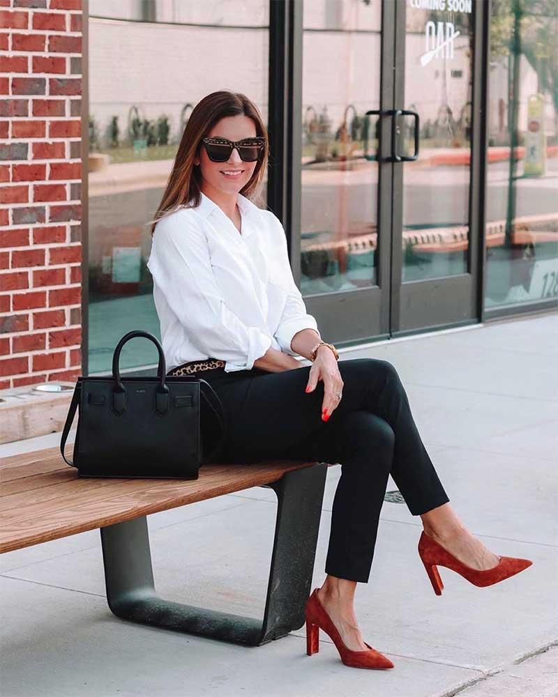 wear office attire
