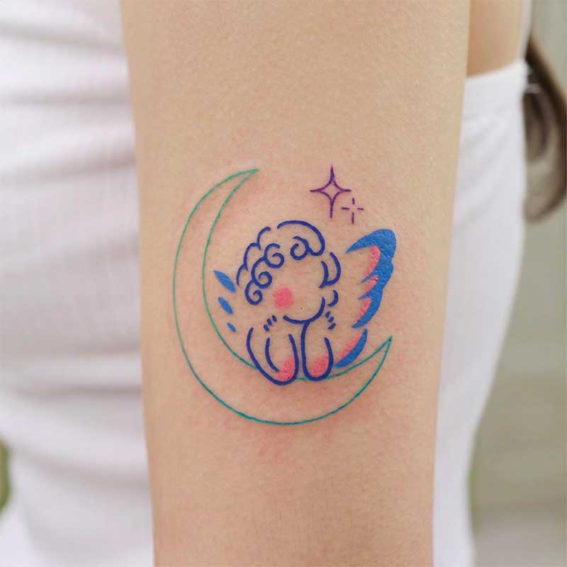 Angel Tattoos For Girls