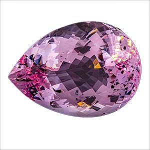 Pink colour Kunzite crystal from Afghanistan.