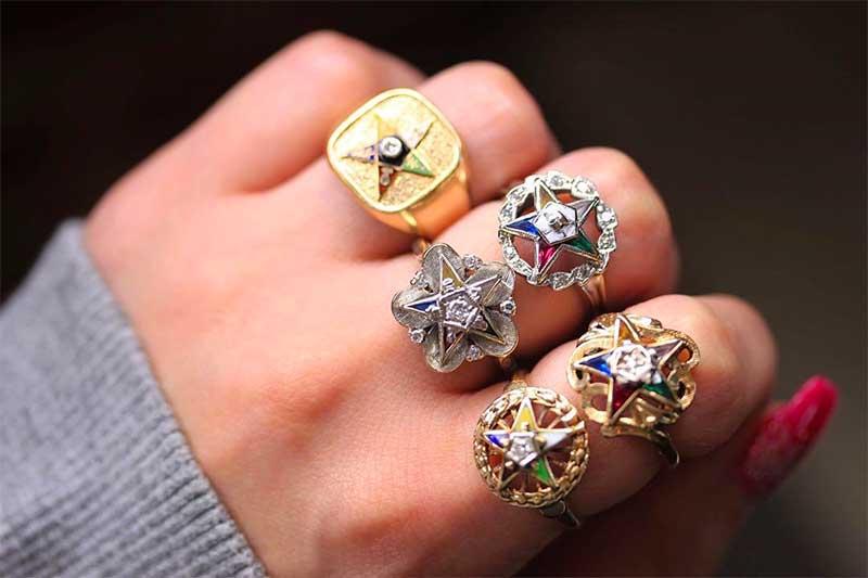 Popularly Masonic Jewelry