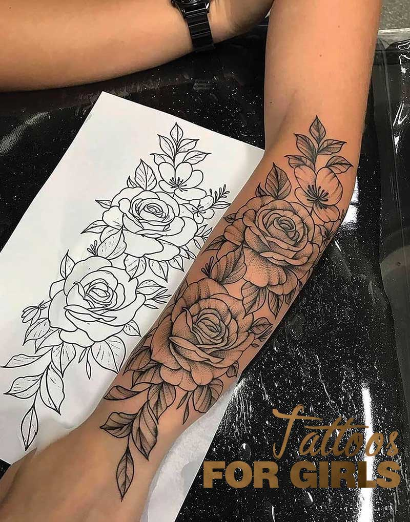 Popular Choices For Girly Tattoos