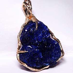 azurite gemstone