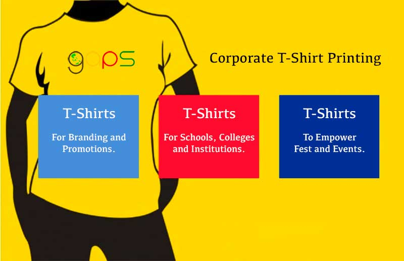 corporate t-shirt printing