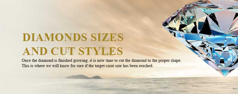 Cremation Diamonds Sizes and Cut Styles