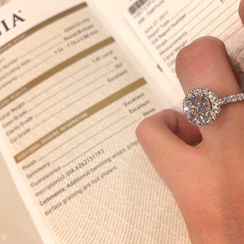 GIA Certified Diamonds. What is a GIA Diamond?