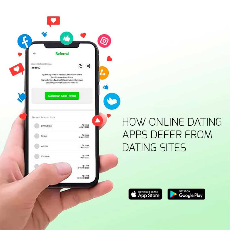 How Online Dating Apps Defer From Dating Sites