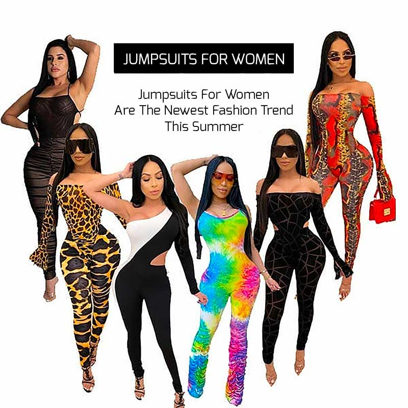 Jumpsuits For Women Are The Newest And Hottest Fashion Trend This Summer