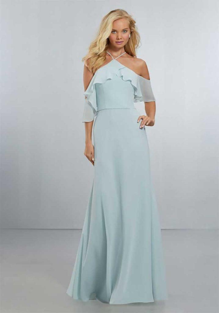 long dress trend for bridesmaids