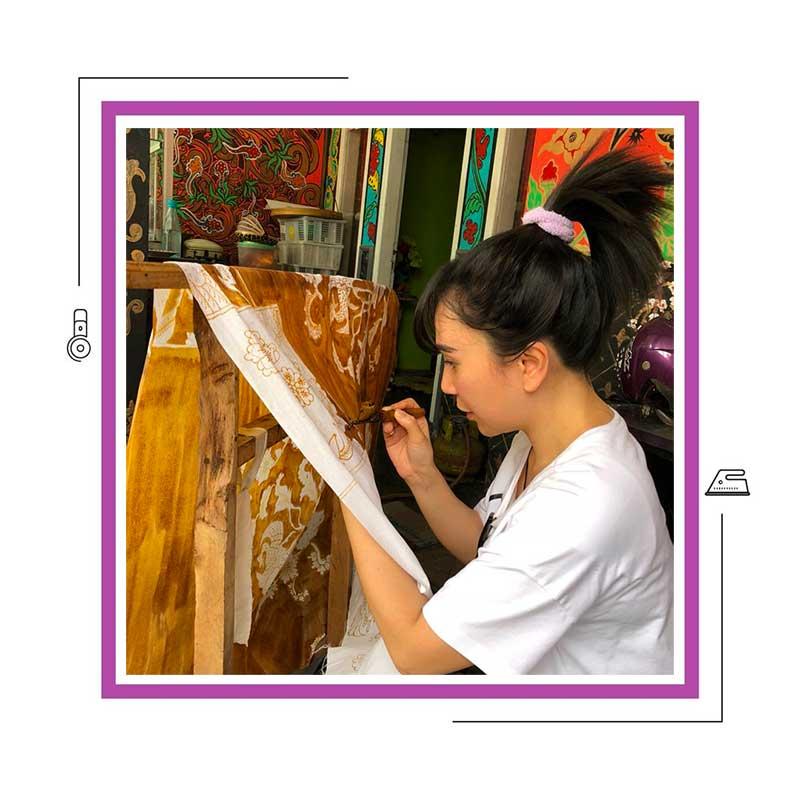 A Virtual Tour of Batik Factory. Making of Batik Fabrics.