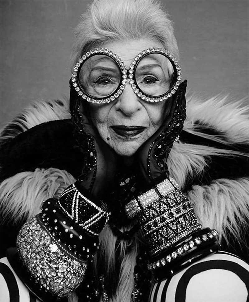 Accessorizing Wisdom From Style Icon Iris Apfel