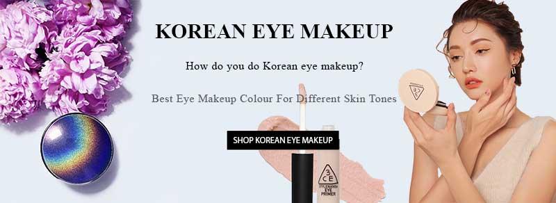 Best Korean Eye Makeup Colour For Different Skin Tones.