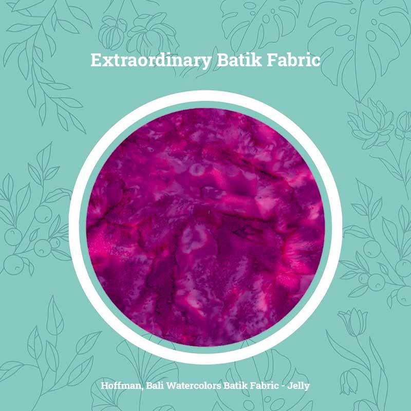 Extraordinary Batik Fabric