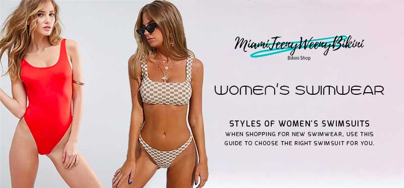 Women's Swimwear - Styles of Women's Swimsuits