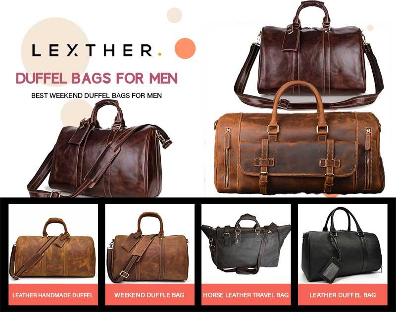 Best Weekend Duffel Bags For Men