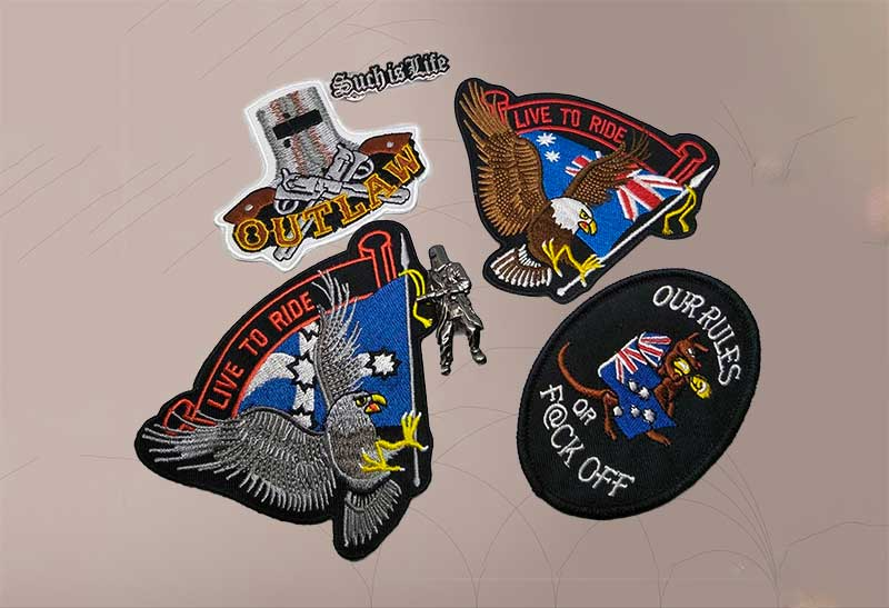 Biker Patches: What Are They Made From