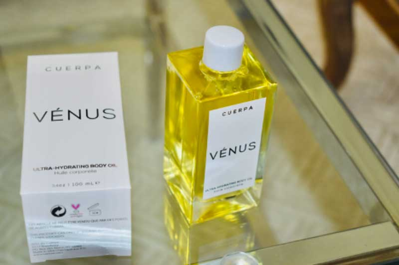 CUERPA Venus Hydrating Body Oil Review