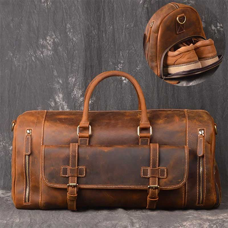 Duffel Bag With Laptop Space