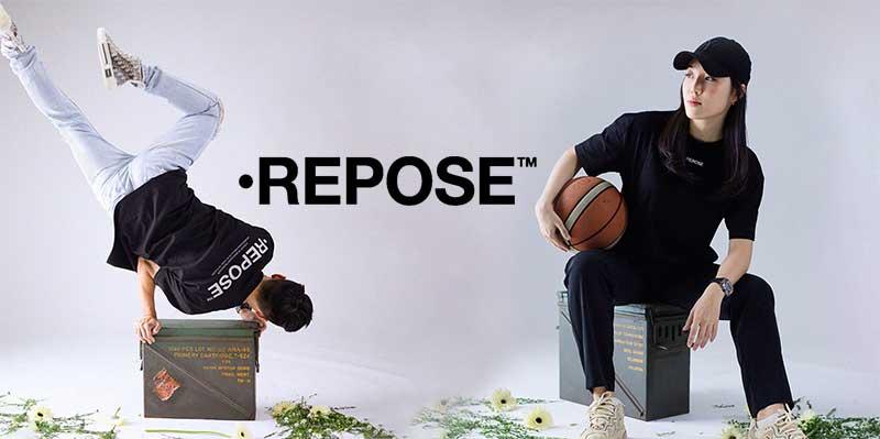 REPOSE Japan, the next generation minimalism fashion debut