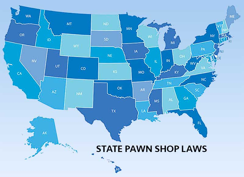 State Pawn Shop Laws