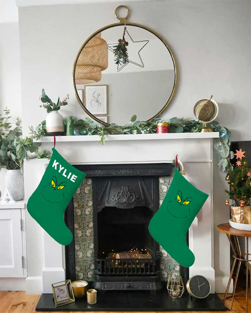 Stink Stank Stunk Christmas Stockings For Whoville Haters