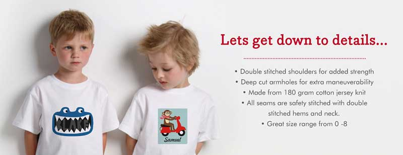 Tee Shirts for Baby