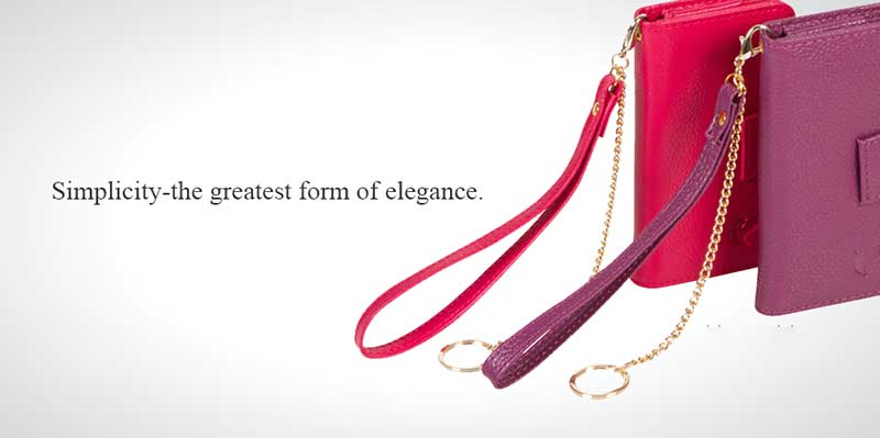 What do you carry in a wristlet?