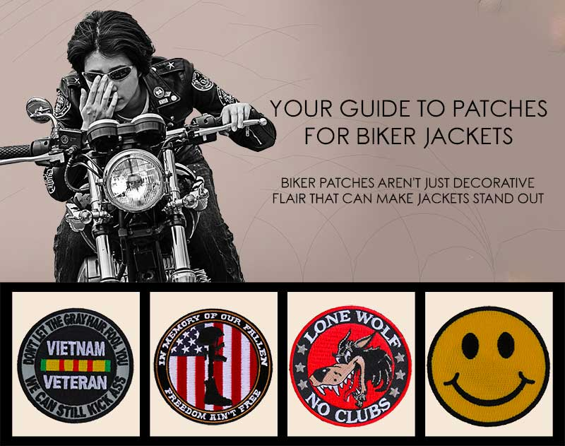 Your Guide To Patches For Biker Jackets