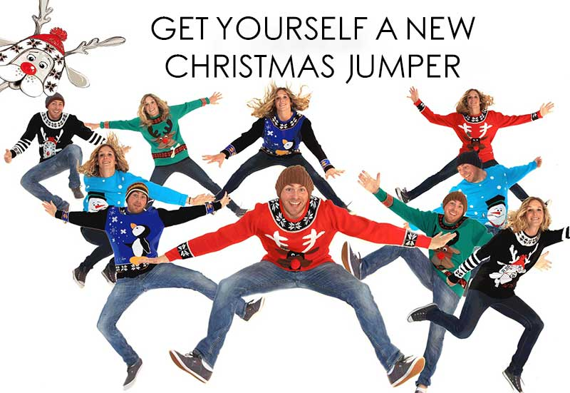 It's nearly that time of year to get yourself a new Christmas jumper