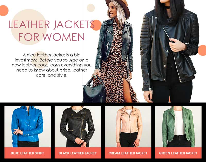Leather Jackets for Women You'll Love to Wear