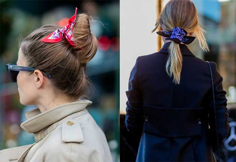 Tie a Scarf In Your Hair