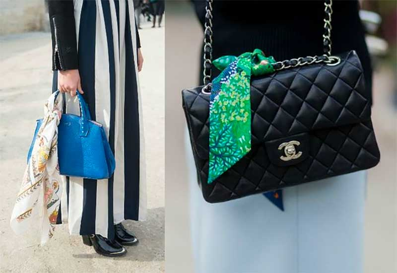 Tie a Scarf on Your Favorite Bag