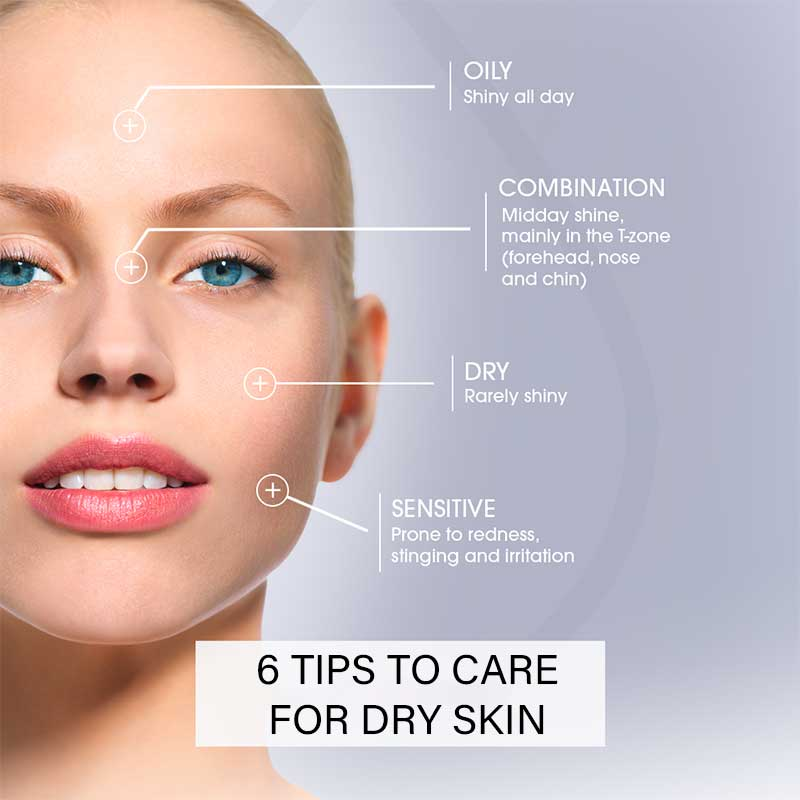 6 Tips to Care for Dry Skin