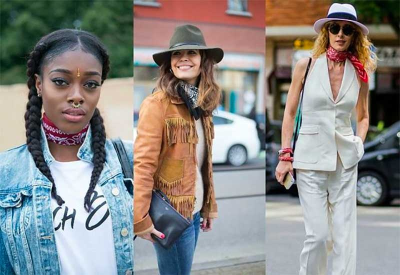 Try A Bandana Instead of a Scarf