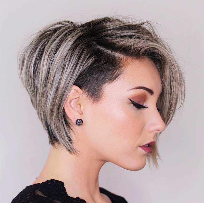 Types of super short hairstyles