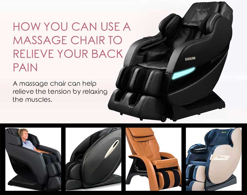 How You Can Use a Massage Chair to Relieve Your Back Pain