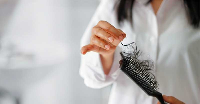 Most common reasons for hair loss