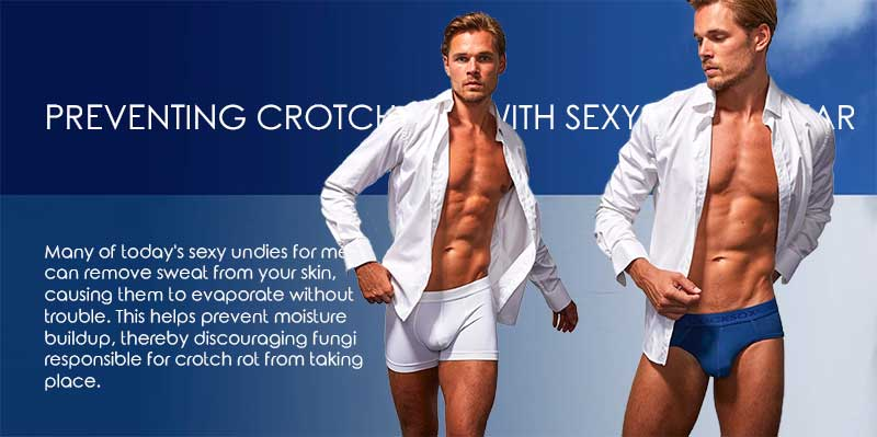Preventing Crotch Rot With Sexy Underwear