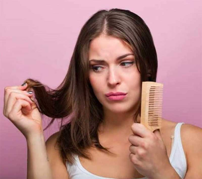 What causes hair thinning in females?