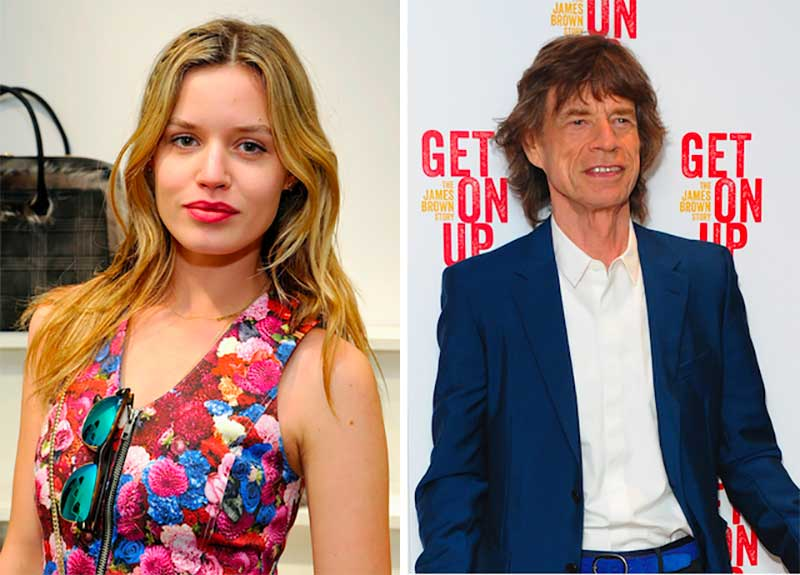 Mick Jagger's daughter Georgia Jagger
