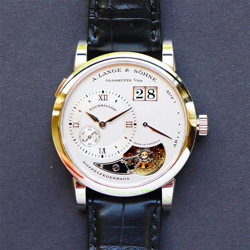 Look at the materials the watch is made from
