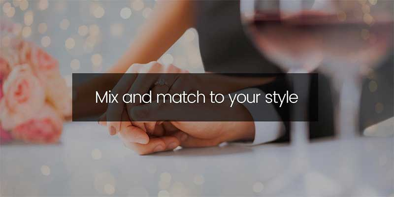 Mix and match to your style